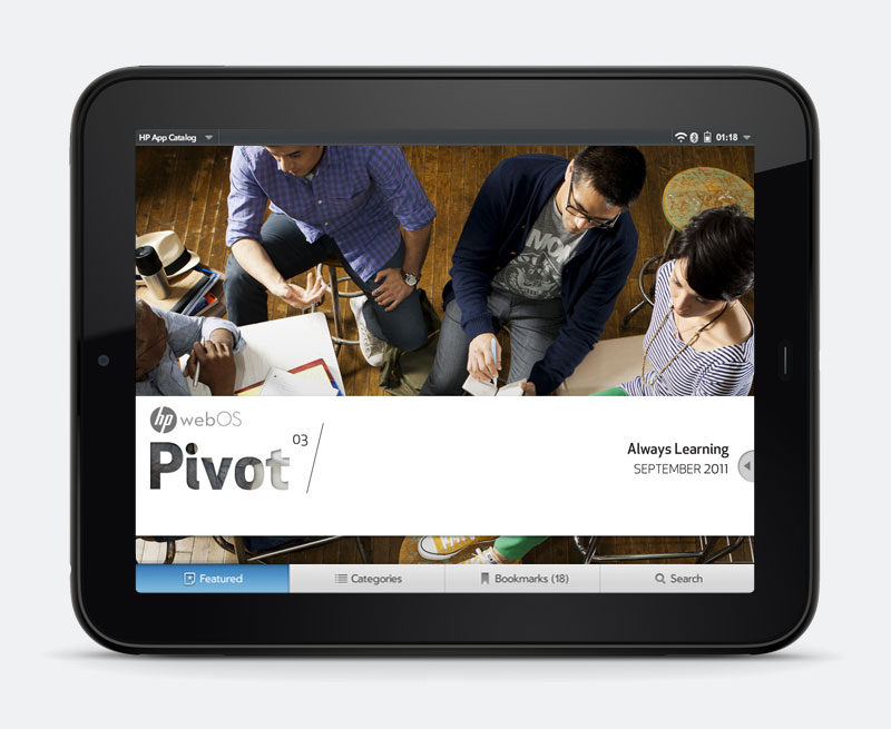 WebOS Pivot